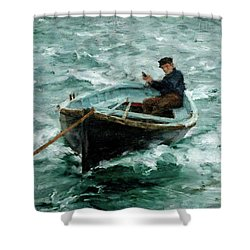 In Tow  Shower Curtain