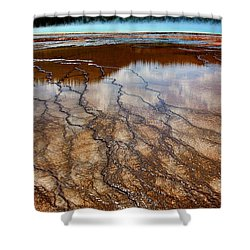 In Vain Shower Curtain by Robert Pearson