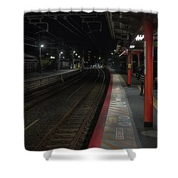Inari Station, Kyoto Japan Shower Curtain