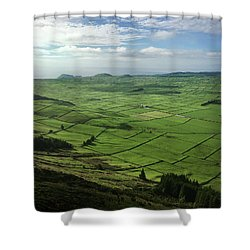 Shower Curtain featuring the photograph Incide The Bowl Terceira Island, Azores, Portugal by Kelly Hazel