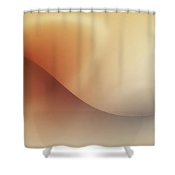 Incision Shower Curtain by Wim Lanclus