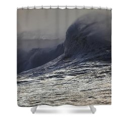 Incoming Shower Curtain by Mark Alder