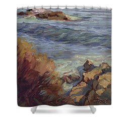 Incoming Wave Shower Curtain