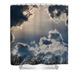 Incredible Clouds Shower Curtain