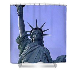 Independence Day Usa Shower Curtain by Travel Pics