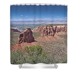 Independence Pano Shower Curtain
