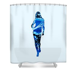 Independent Shower Curtain by Anastasiya Malakhova