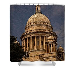 Independent Man Shower Curtain by Lourry Legarde