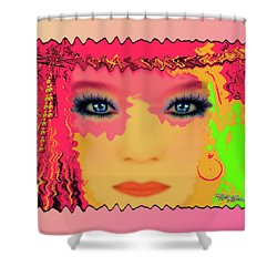 Shower Curtain featuring the photograph Indian #193 by Barbara Tristan