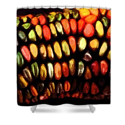 Indian Corn Shower Curtain