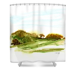 Indian Hill Groton Ma Shower Curtain