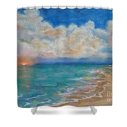 Indian Shores Shower Curtain