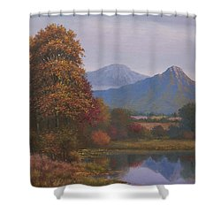 Indian Summer Revisited Shower Curtain by Sean Conlon