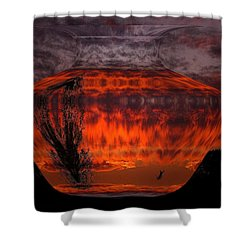 Shower Curtain featuring the photograph Indian Summer Sunrise by Joyce Dickens