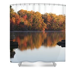 Shower Curtain featuring the photograph Indian Summer by Vadim Levin
