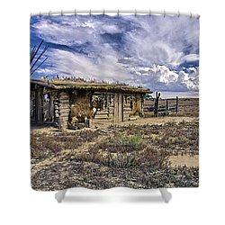 Indian Trading Post Montrose Colorado Shower Curtain by James Steele
