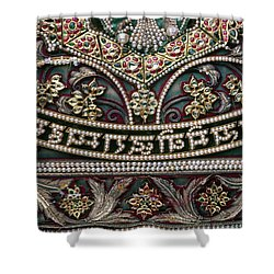 Shower Curtain featuring the photograph Indian Wall Hanging by Granger
