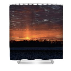 Indiana Evening Shower Curtain