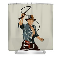 Indiana Jones - Harrison Ford Shower Curtain