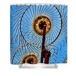 Indiana Sky Shower Curtain