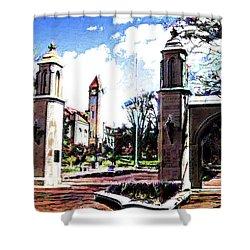 Indiana University Gates Shower Curtain
