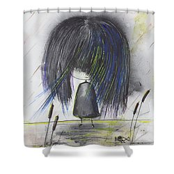 Indigo Child  Shower Curtain