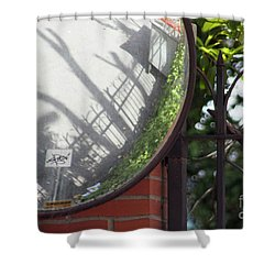 Indirect Nature Shower Curtain