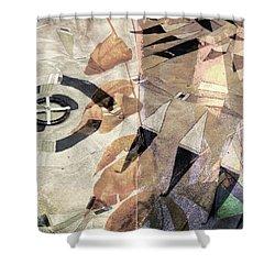 Indomitable Spirit Shower Curtain by Toni Hopper
