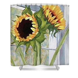 Indoor Sunflowers II Shower Curtain