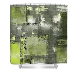 Industrial Abstract - 11t Shower Curtain