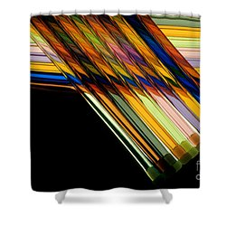 Industrial Art Shower Curtain by Jerry McElroy