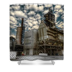 Industrial Disease Shower Curtain