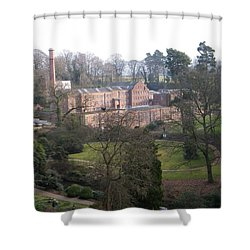 Industrial Heritage Shower Curtain