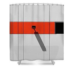 Industrial Minimalism 33 Shower Curtain