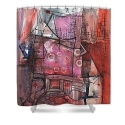Industrial Mystery Shower Curtain