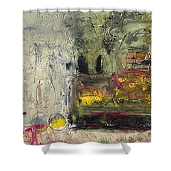 Industry Shower Curtain by Phil Strang