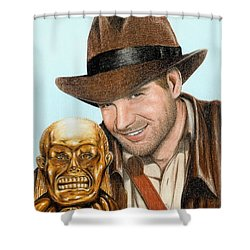 Indy Shower Curtain by Bruce Lennon