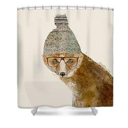 Indy Fox Shower Curtain