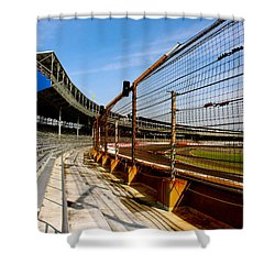 Indy  Indianapolis Motor Speedway Shower Curtain