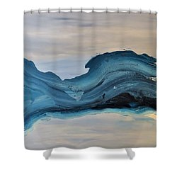 Inertia Shower Curtain