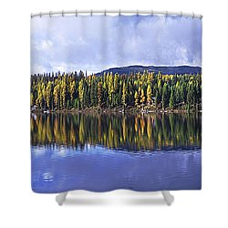 Inez Lake Montana Shower Curtain