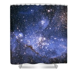 Infant Stars In The Small Magellanic Cloud  Shower Curtain
