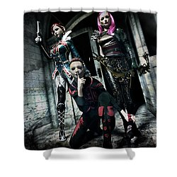 Infiltration Shower Curtain