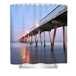 Infinite Bridge Shower Curtain