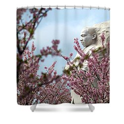 Infinite Hope Shower Curtain by Mitch Cat