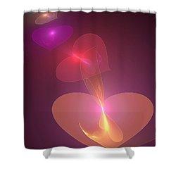 Infinite Love Shower Curtain by Svetlana Nikolova