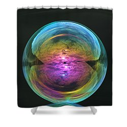 Infinite Reflections Shower Curtain by Cathie Douglas