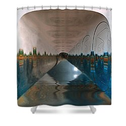 Infinity Home Shower Curtain by Mario Carini