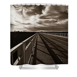 Shower Curtain featuring the photograph Infinity by Marilyn Hunt