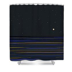 Infinity Pool Shower Curtain